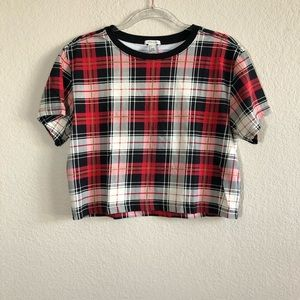 3 for $20. Forever 21 plaid crop top